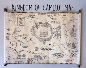 Kingdom of Camelot Map Merlin on BBC Map King Arthur Map of Camelot, City of Camelot Map, Merlin Map