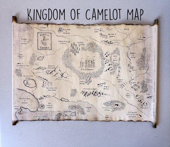 On King Arthur Kingdom Map Map Merlin Bbc Camelot CamelotCity Of TwukZiOPX