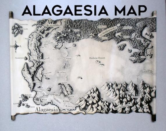 Eragon Karte.Karte Von Alagaesia Eragon Karte Christopher Paolini älteste Brisingr Vererbung Alagaesia Karte Karte Der Welt Handgemachte Scroll Handwerk