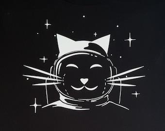 SPACE PUSSY / Catronaut (Men's/Unisex) T-Shirt.
