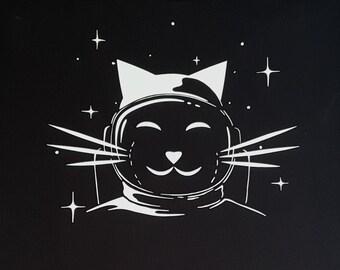 SPACE PUSSY / Catronaut (Women's sizes) T-Shirt.