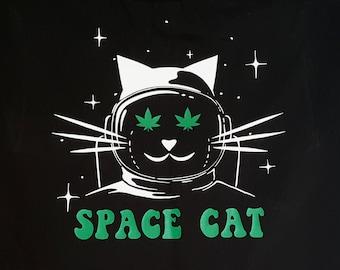 SPACE CAT / Potronaut (Women's sizes) T-Shirt.