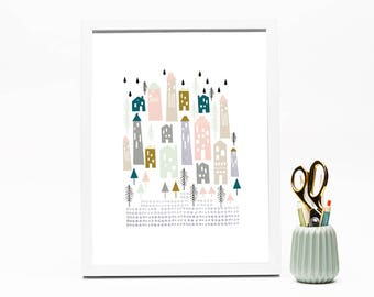 In the City Print