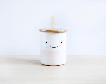 Cute ceramic sugar bowl with lid and spoon, Pottery sugar bowl, Ceramics & pottery, Kawaii ceramic, Cute gift, Ceramics Clay, Sugar bowls
