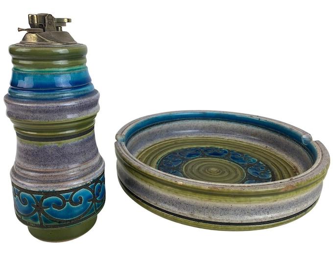 Bitossi Aldo Londi Ceramic Smoking Set