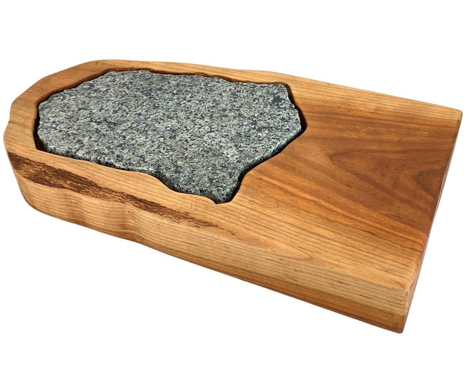 Wood & Granite Cheese Serving Board
