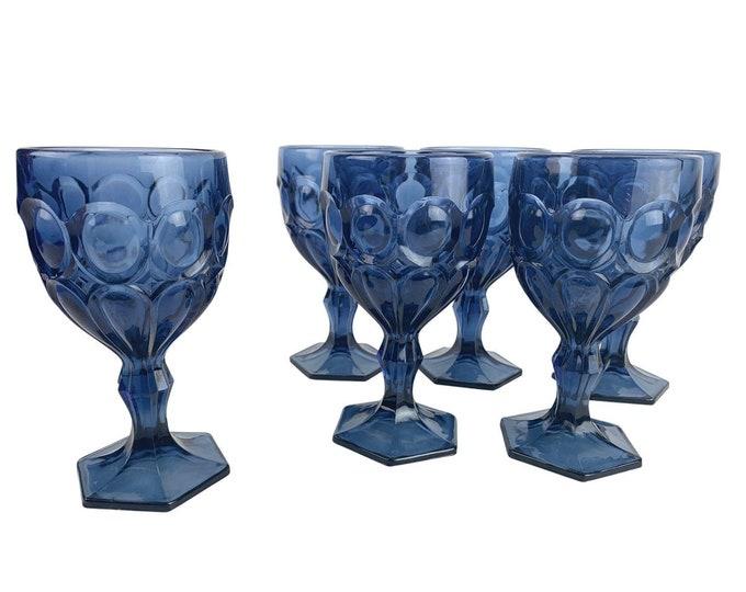 Midcentury Dessert Wine Glasses, S/6