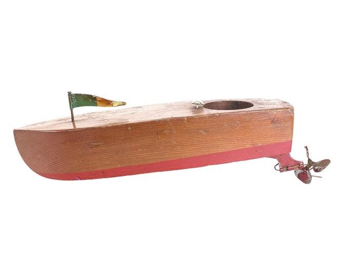 1950s Speedboat Model