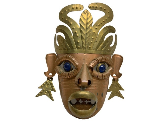 Mexican Hand-Made Wall-Hanging Mask