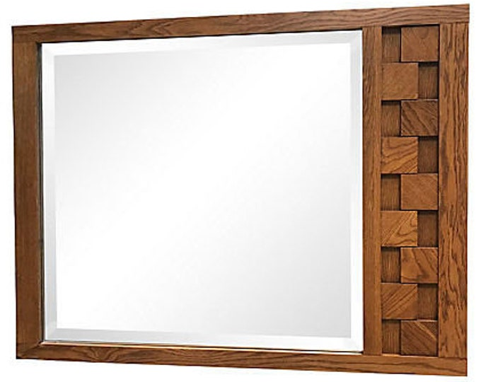 Mid-Century Modern Lane Mosaic Mirror