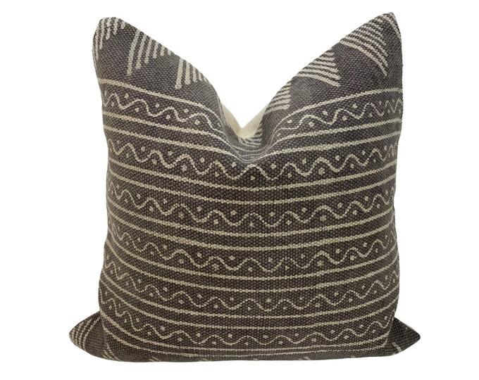 Indian Hand Block Printed Throw Pillow
