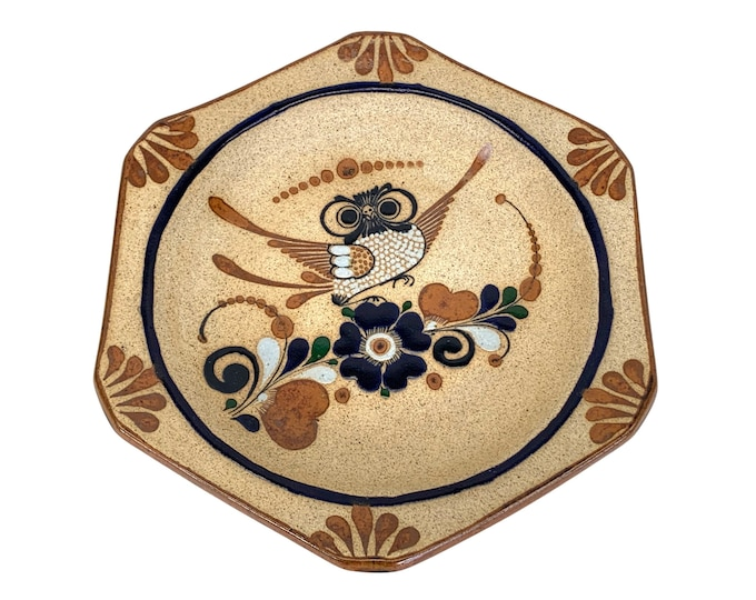 Mexican Hand-Painted Catchall Bowl
