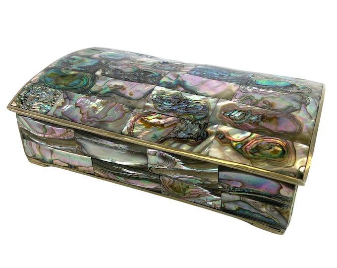Abalone Shell & Rosewood Lined Box