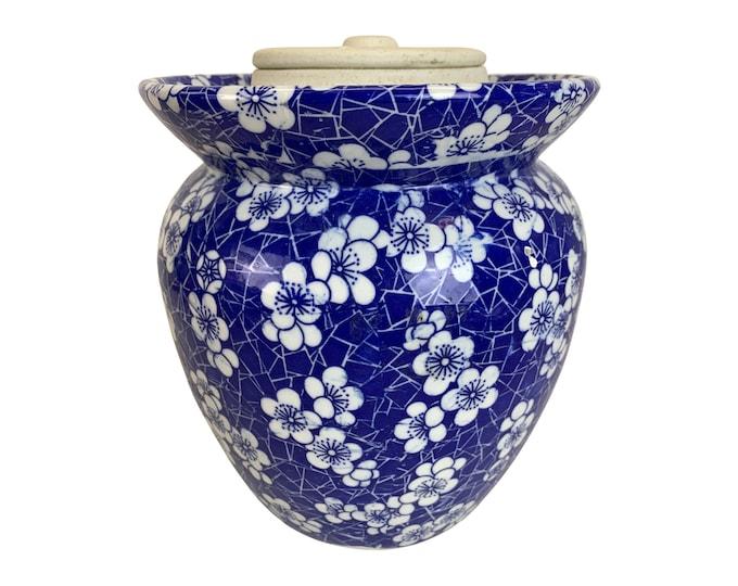 Chinese Modern Cherry Blossom Ginger Jar