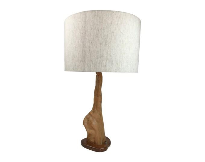 Mid-Century Modern Cypress Knuckle Lamp