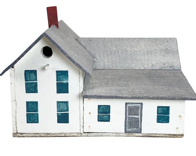 Hand-Made Farmhouse Birdhouse Model