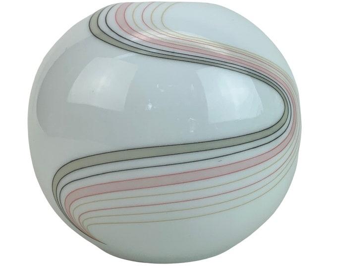 1970s Modernist Porcelain Vase by Toyo