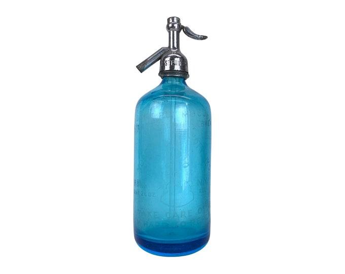 Antique New York City Seltzer Bottle