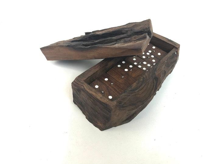 Hand-Made Wood Dominos Set
