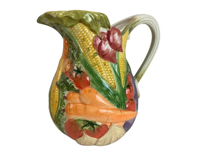 Hand-Made Ceramic Pitcher