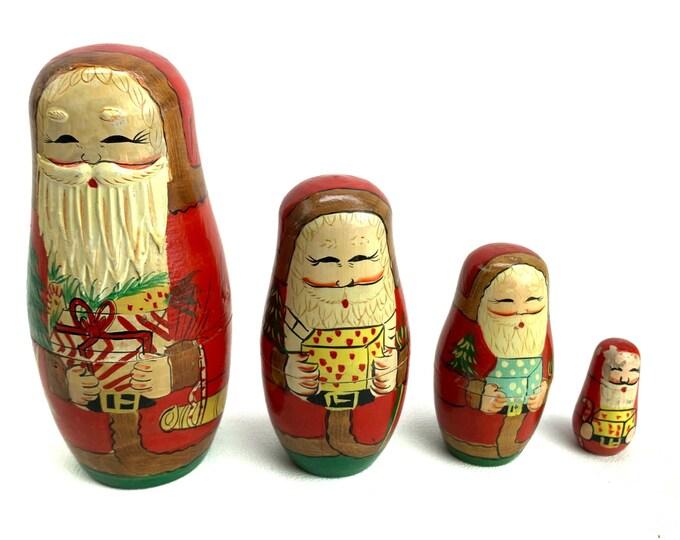 Russian Santa Claus Matryoshka
