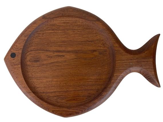Mid-Century Modern Teak Wood Tray