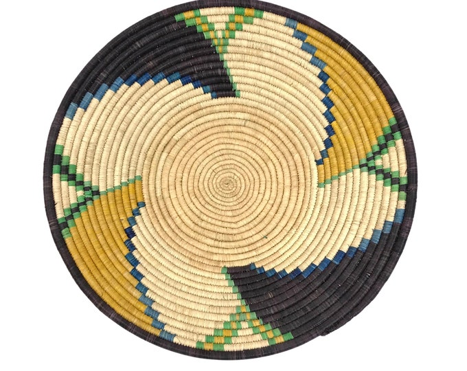 African Handwoven Catchall Bowl