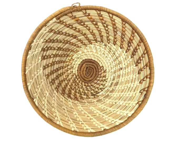 African Woven Catchall Bowl