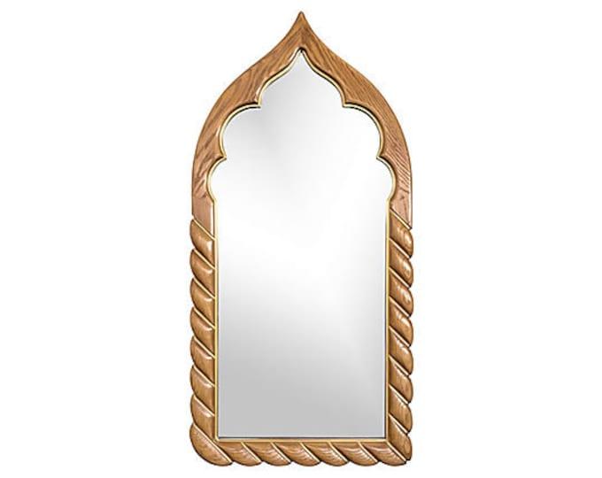 Arabesque Wood Wall Mirror by Drexel