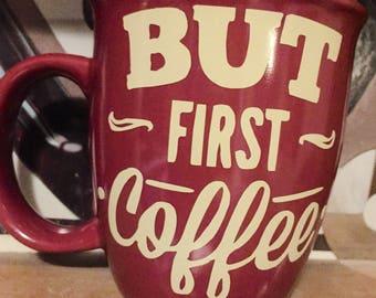 But First Coffee Mug, Coffee First Then Speak, Gotta Have Caffiene First