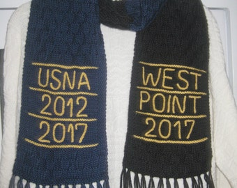 Military scarf. Army, Navy, Marines, Air Force, Coast Guard