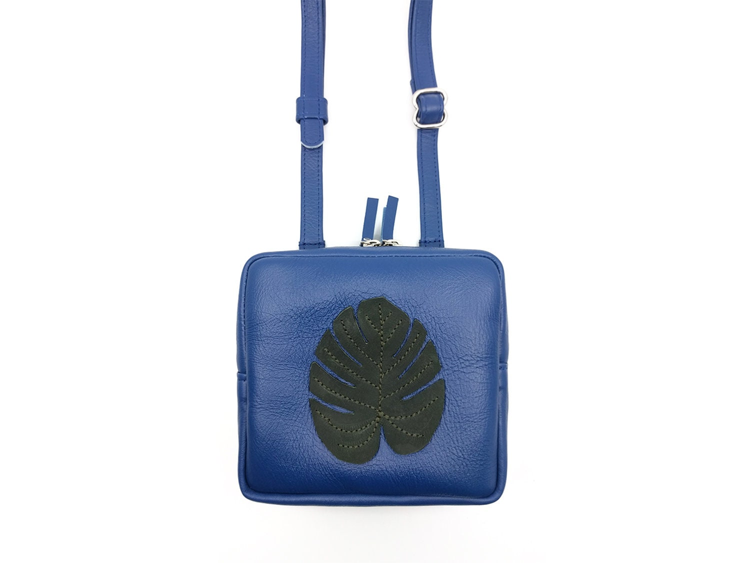 Michael kors brooklyn large leather applique camera bag in