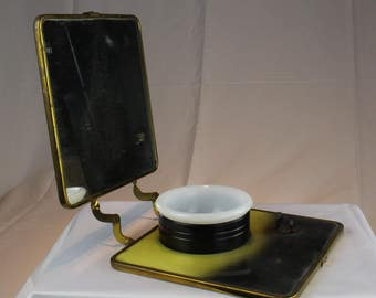 Art DECO Traveling Shave Kit - Old and Rare