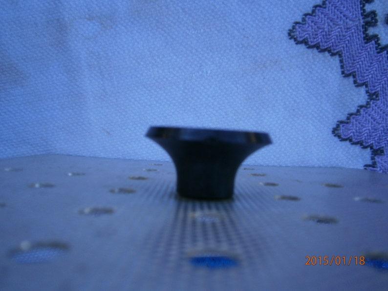 Square Alum Gadget Kitsch Black Handle Vintage 1950s Skillet Cover Perforations Pot Cover