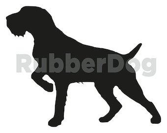GERMAN WIREHAIRED POINTER Design - Digital Clip Art Graphics for Personal or Commercial Use