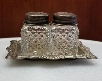 Crystal Salt Pepper Shakers Etsy