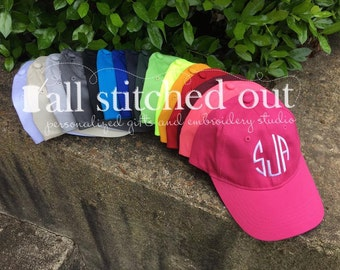 ad91f2a7 Monogrammed Youth Hats - Solid Personalized Kid Hats - Personalized Youth  Hat - SALE - Monogrammed Youth Ball Cap - Personalized Ball Cap