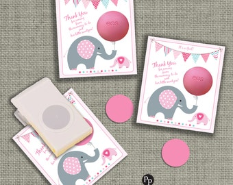 Baby Shower Gift Tags for EOS lip balm gifts | INSTANT DOWNLOAD | Thank You Favor Tags | No. BBE2-EOS1