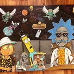 "Rick and Loathing Print! Printed on 16""x12"" high end, 100 pound paper!"