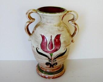 Stangl Terra Rose Vase Signed