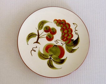 Stangl Orchard Song Dinner Plate