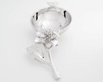 TITASY Platinum Tea Strainer [Scent of a Tea Flower, TS-10]
