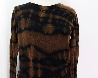 Upcycled Tie Dye Ladies Sweater