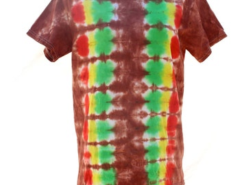 Tie Dye T-Shirt Small Rainbow Hippie Clothes
