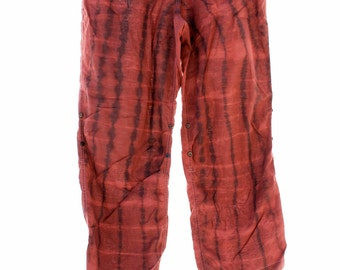Tie Dye Pants, UpCycled Clothing, Victoria Secret Brand, Lightweight Lounge Pants, Festival Clothes