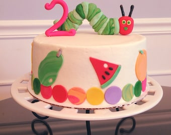 Hungry Caterpillar 3D Cake Topper