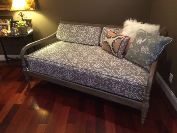 Fitted Daybed cover with CORDING/PIPING in twin twin xl ...