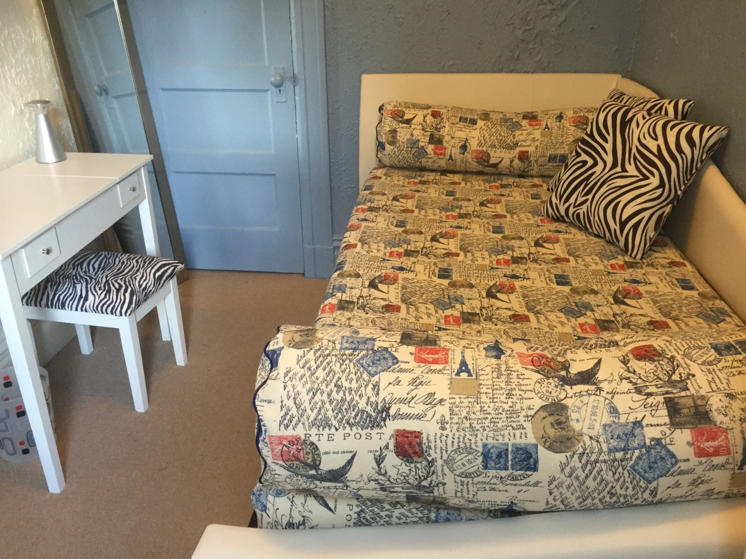 Fitted Daybed cover in twin, twin xl and full mattress ...