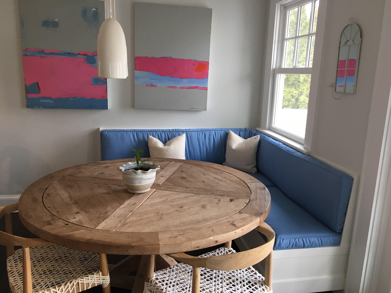Custom Cushion Or Cushion Covers Kitchen Shown In Sunbrella Canvas Air  Blue, Cushions, Back Cushions, Bench Cushions, DO NOT PURCHASE