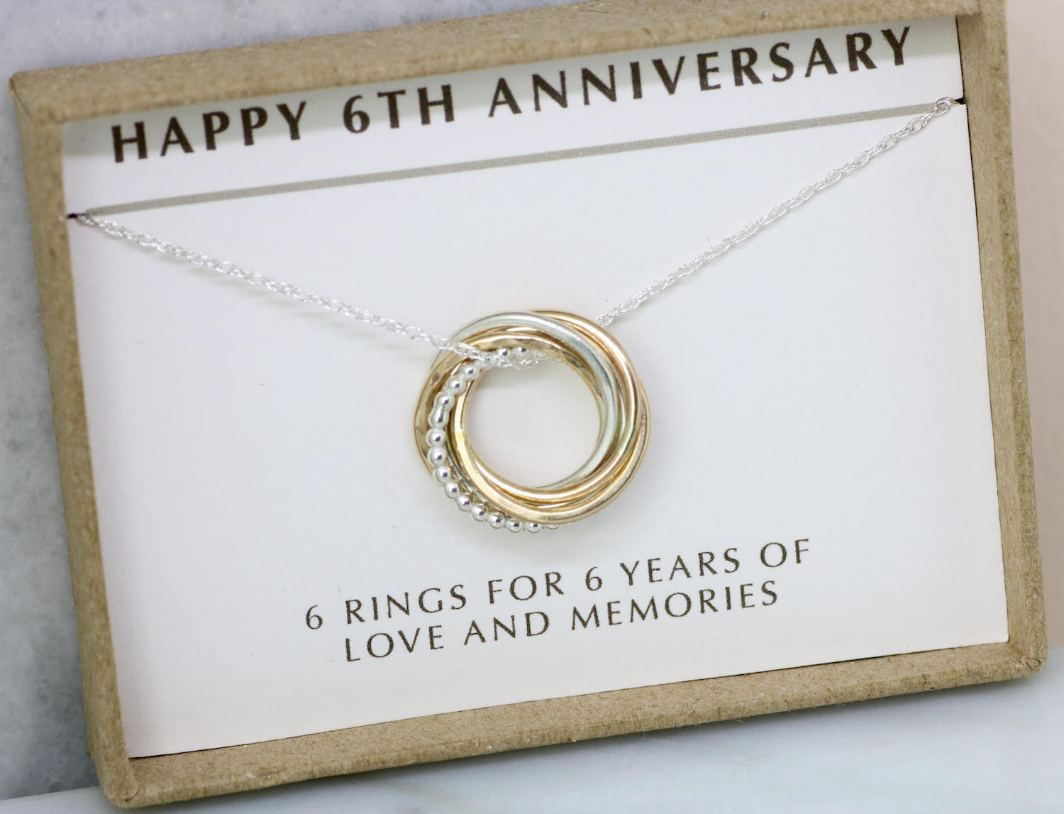 6th anniversary gift, 6 year anniversary gift for wife, 6th wedding ...